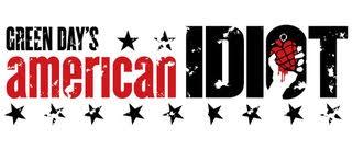 green day's american idiot musical logo